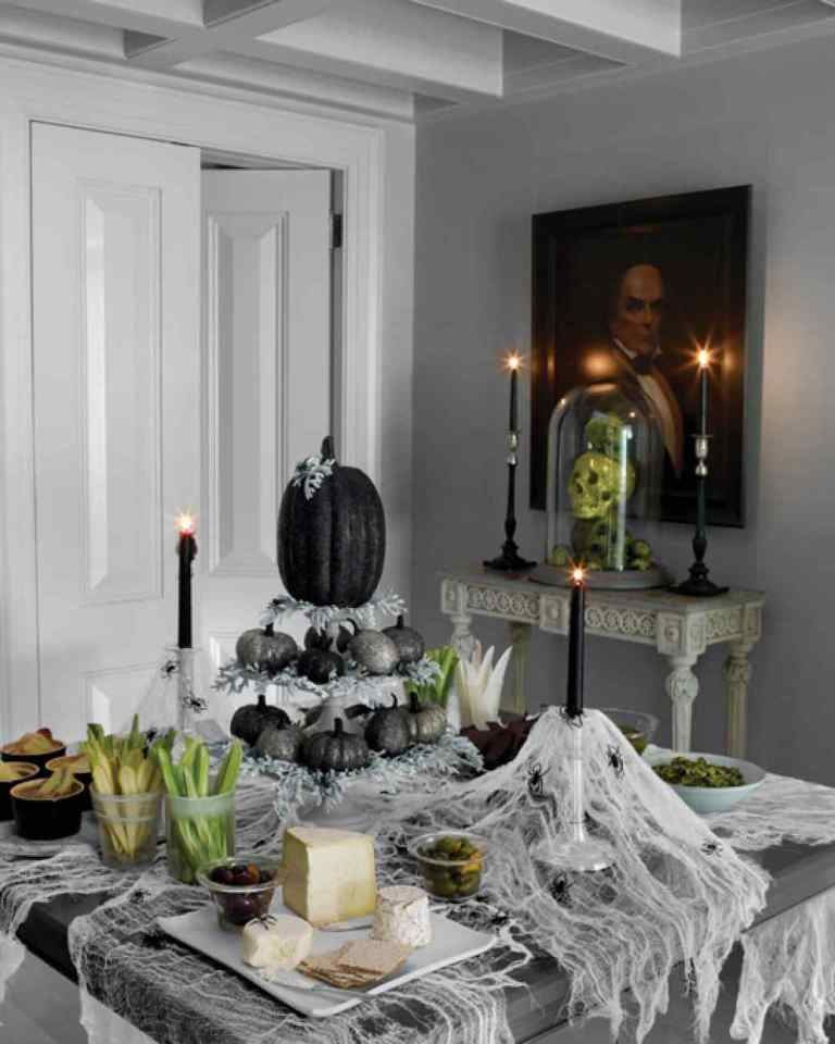 Indoor Halloween Party Decorations Ideas
