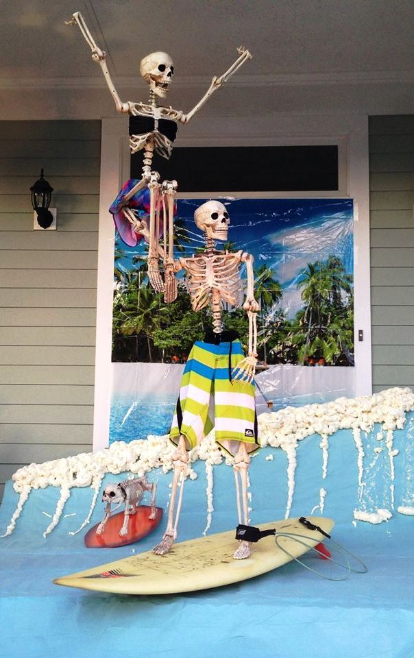 More Amazing Skeleton Halloween Decorations