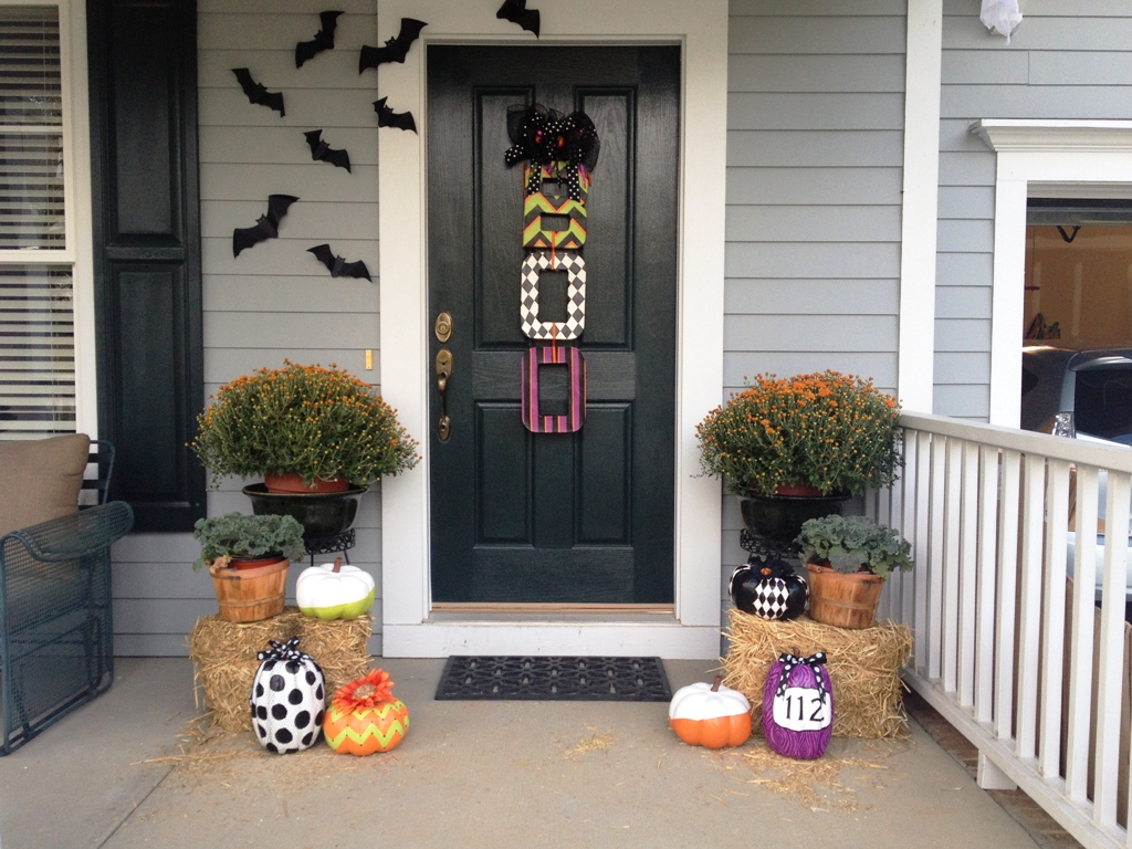 Pinterest Halloween Front Porch Decorations Ideas