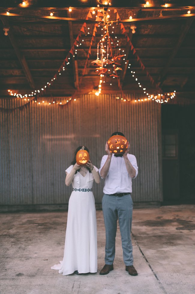 Rustic Halloween Wedding Decorations Ideas