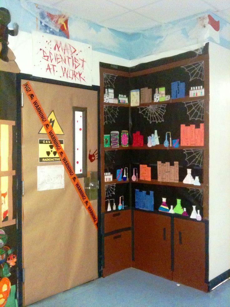 Science Classroom Halloween Decorations
