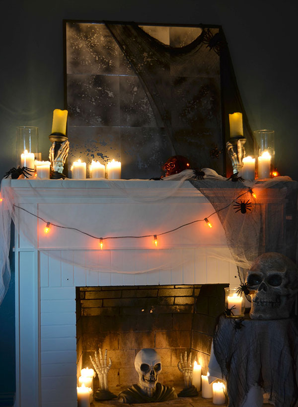Spooky DIY Indoor Halloween Decorations