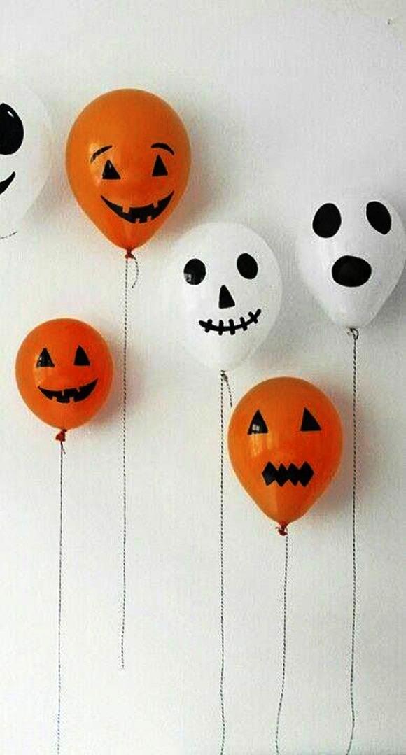 Tissue Paper Halloween Decorations
