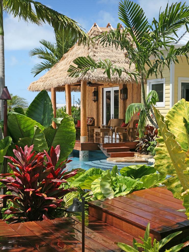 Tropical Outdoor Exterior Design