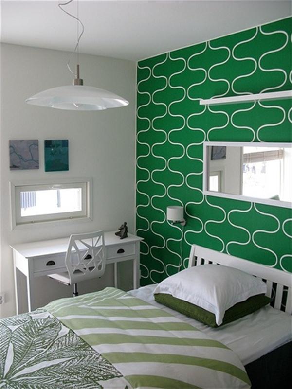 Amazing Green Bedroom Design