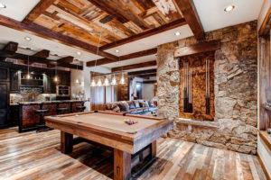 20 Amazing Rustic Basement Design Ideas