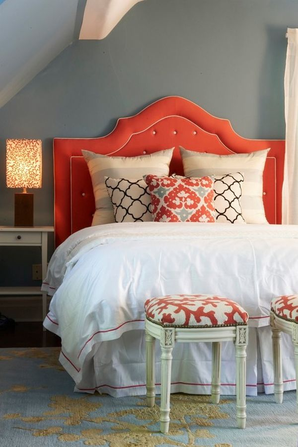 Beautiful Coral Bedroom Design