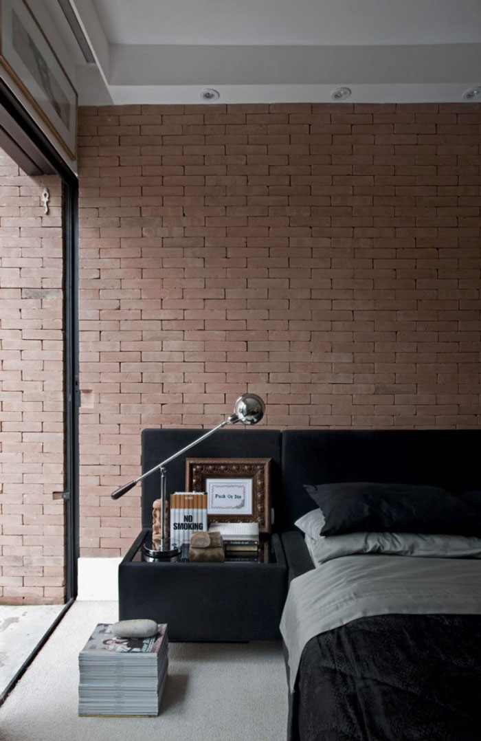 Beautiful Industrial Bedroom Design