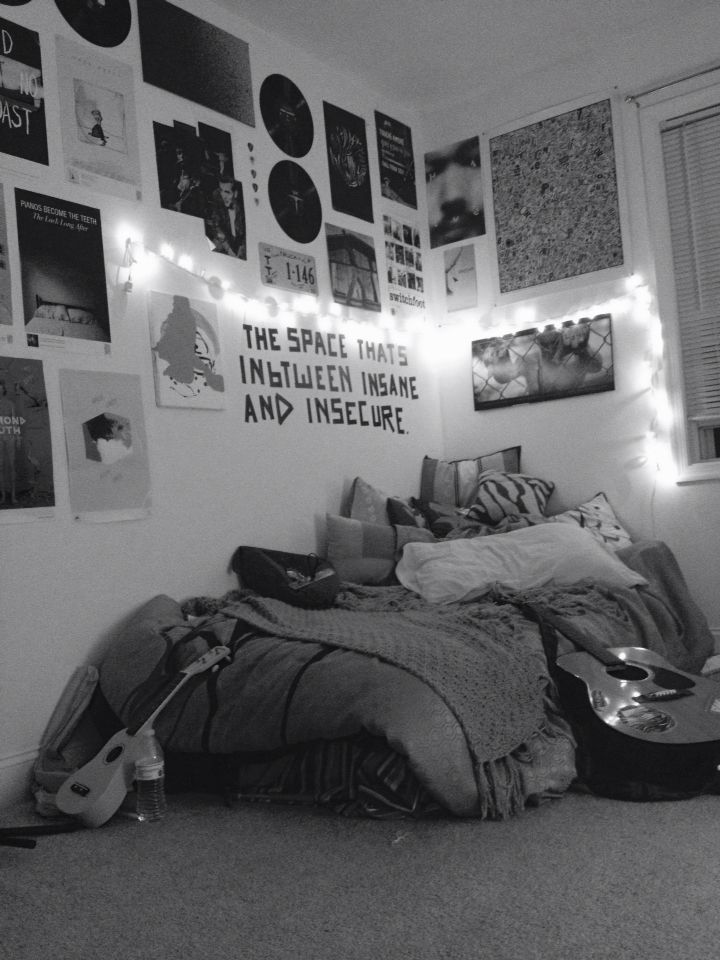 Beautiful Interesting Hipster Bedroom