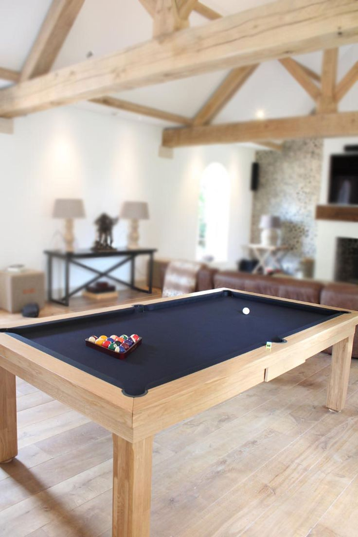 Best Traditional Basement Pool Table Design