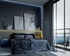 15 Awesome Industrial Bedroom Design Inspiration