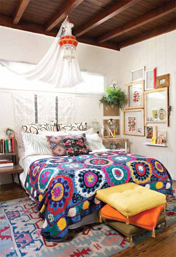 Charming Boho Bedroom Design