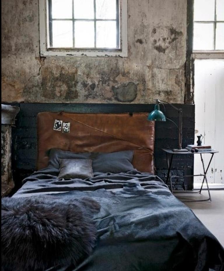 Great Industrial Bedroom Design