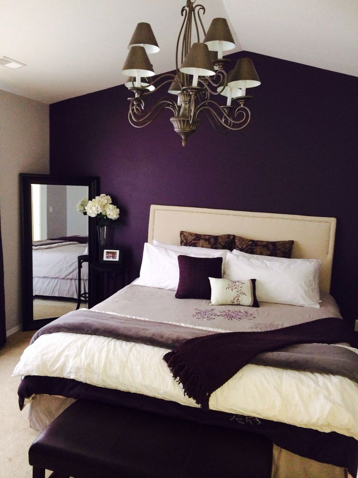 Romantic Purple Bedroom Design