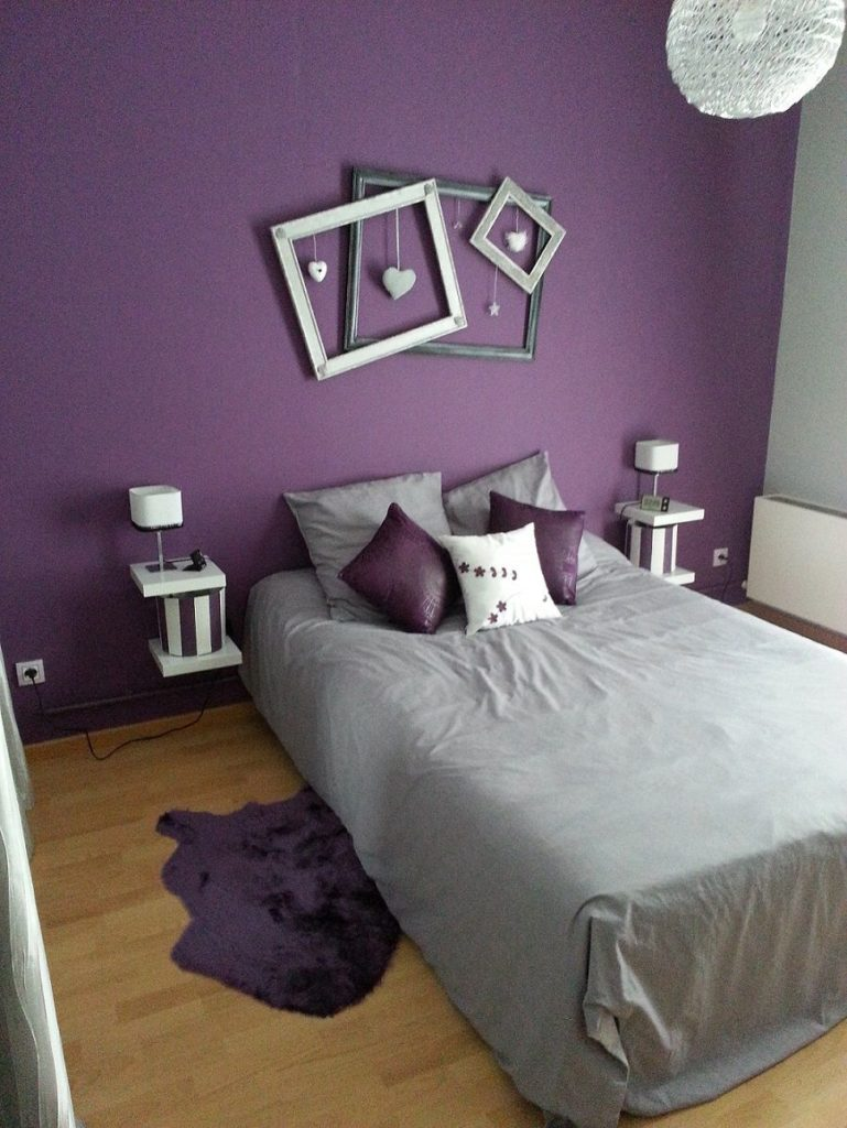 15 Romantic Purple Bedroom Design Ideas - Decoration Love