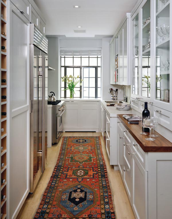 Beautiful Small Galley Kitchens