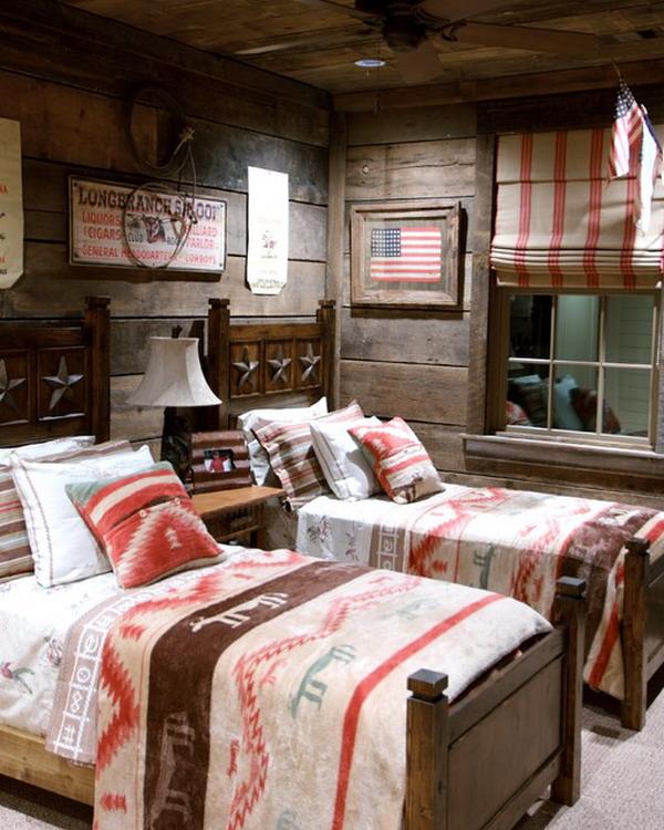 Boys Western Country Bedroom Design
