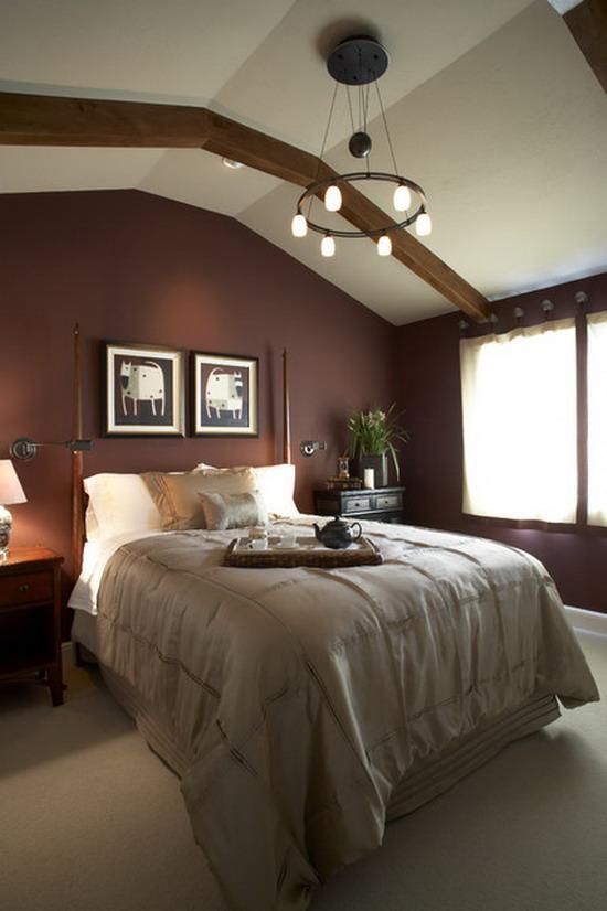 30 Stylish Dark Bedroom Design Ideas - Decoration Love