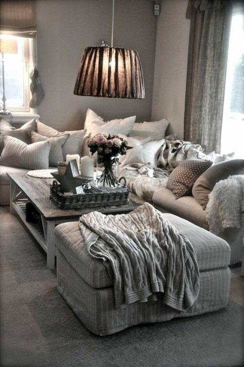 Comfy Living Room Design