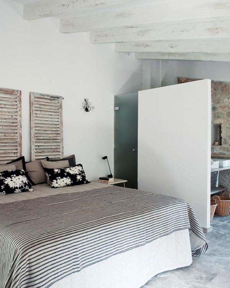 Cottage Country Bedroom Design