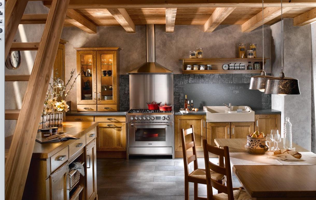 30 stunning country kitchen design ideas decoration love - Small kitchen decorating ideas ...