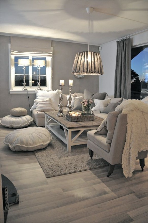 Cozy Living Room Gray