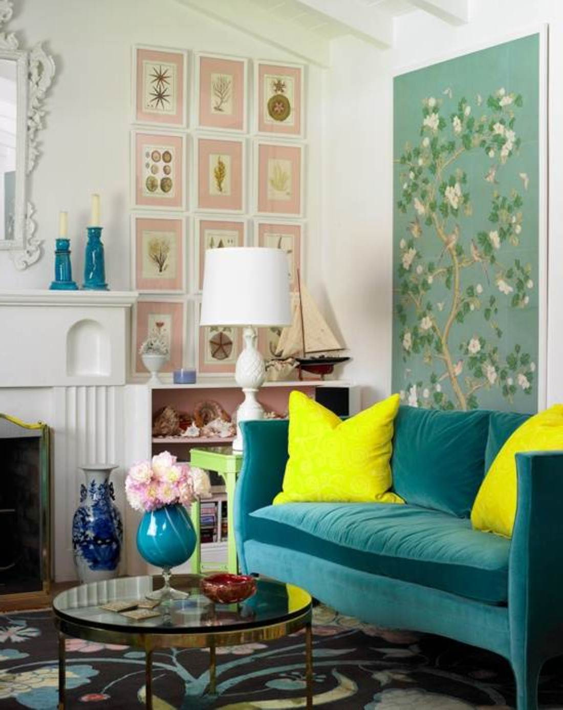 30 amazing small spaces living room design ideas - Small living room colors ...
