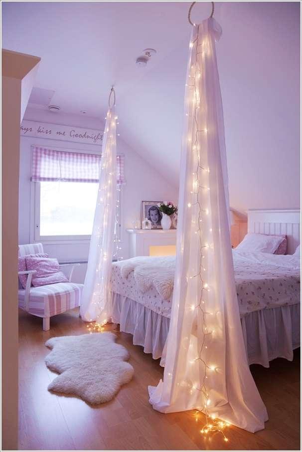 Girls Bedroom Fairy Lights