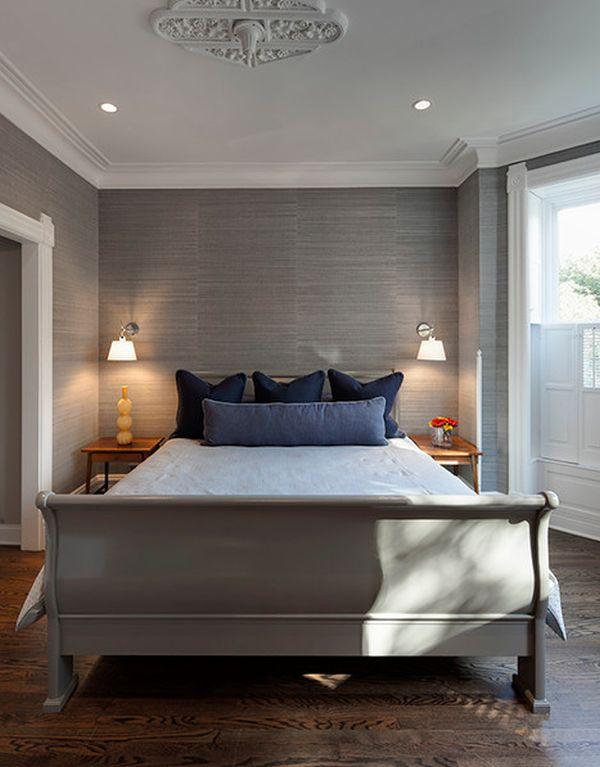 Grey Master Bedroom Design Idea