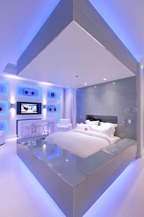 LED Bedroom Lighting Ideas