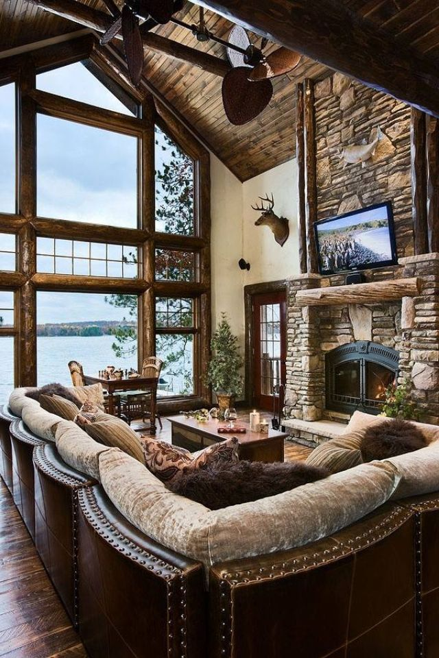 Lake House Living Room