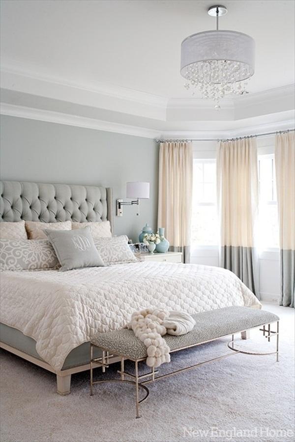 Master Bedroom Grey and Neutrals