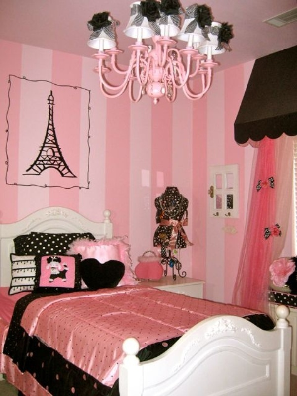 Paris Themed Bedroom for Girls Room