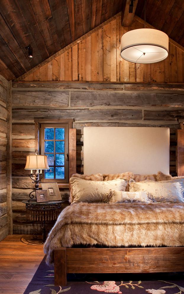 Rustic Bedroom Interior Design