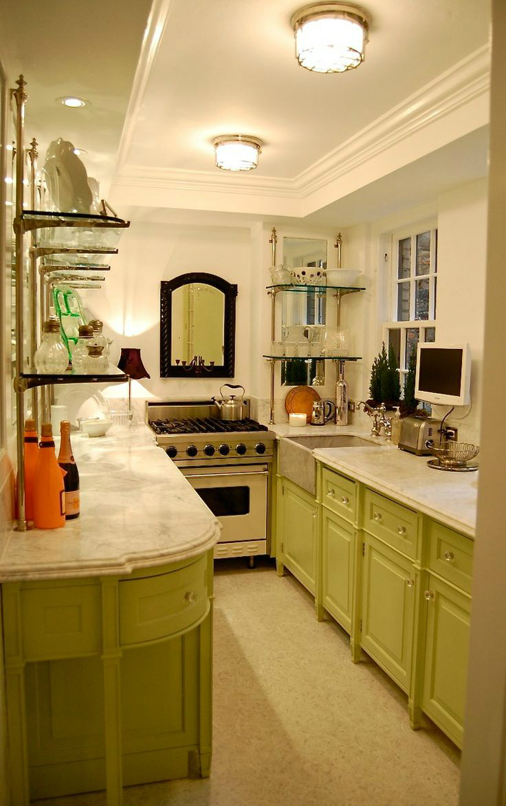 30 beautiful galley kitchen design ideas decoration love - 10x10 kitchen designs with island ...