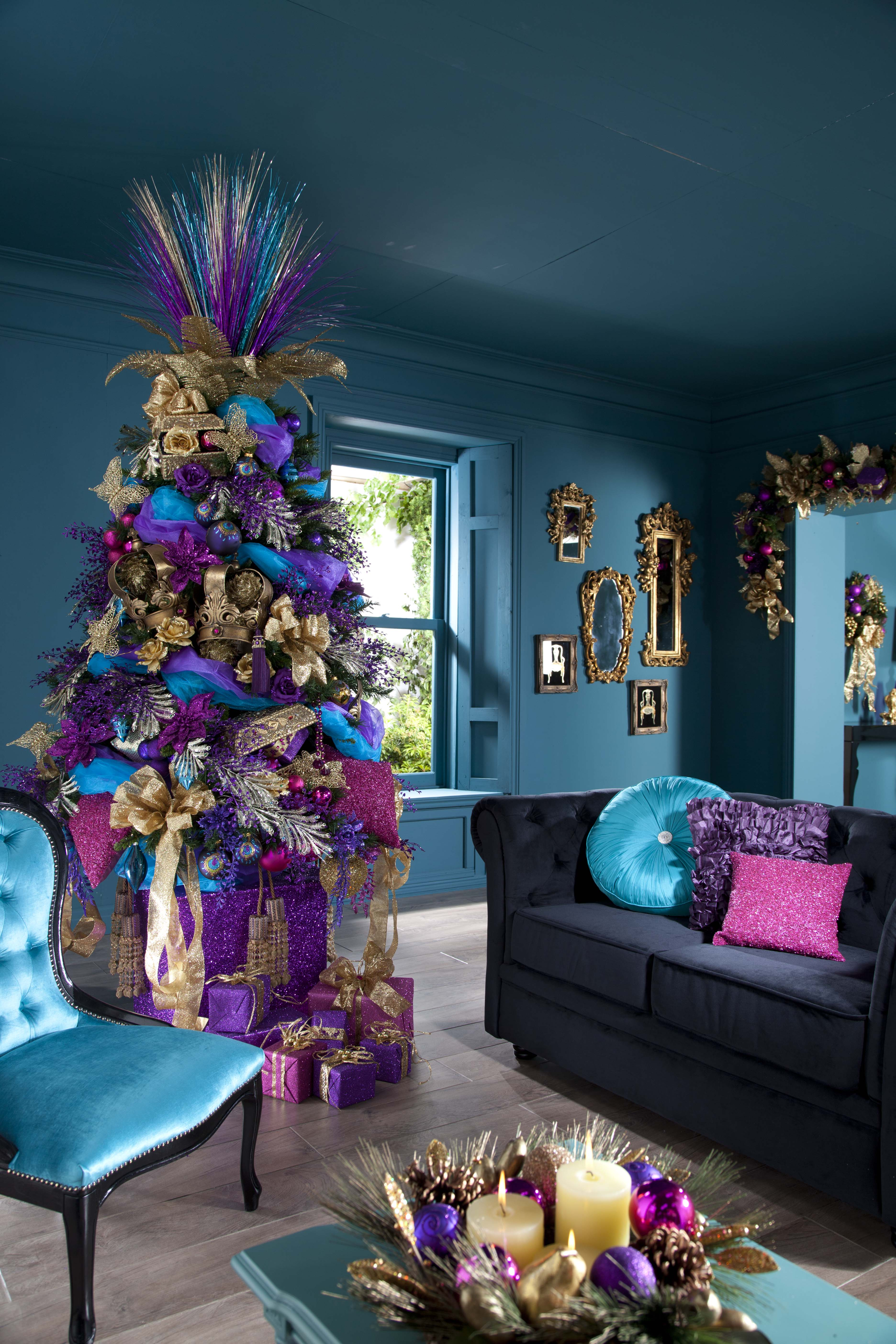 Attractive Christmas Tree Decorating Ideas