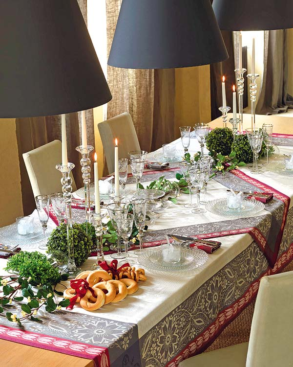 Awesome Christmas Table Decoration