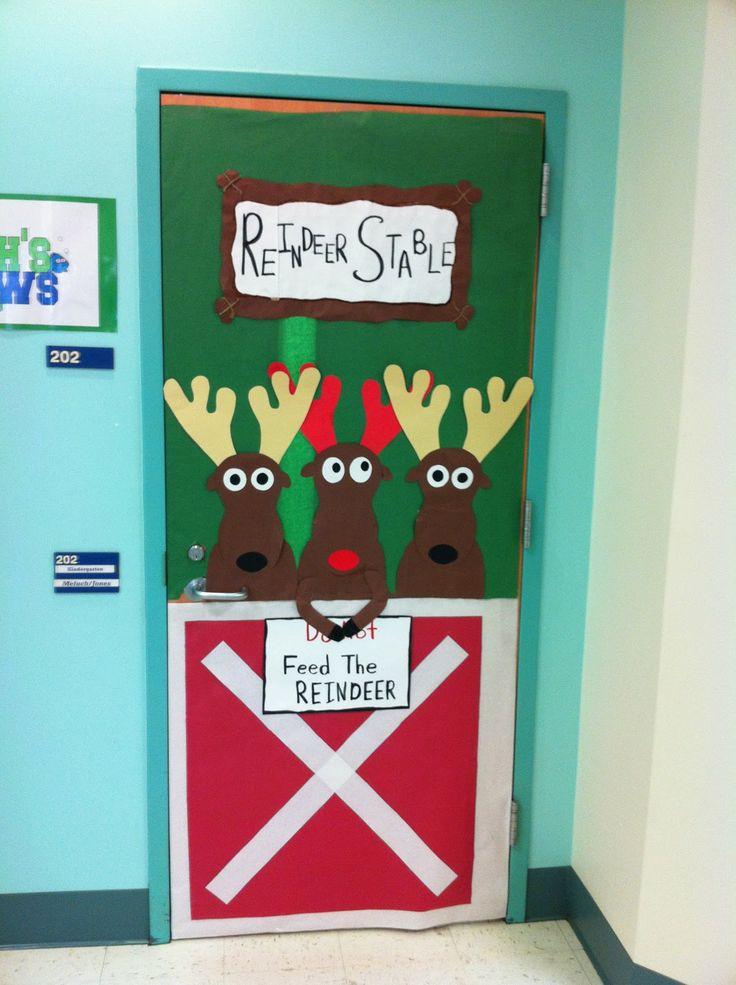 Best Christmas Classroom Door