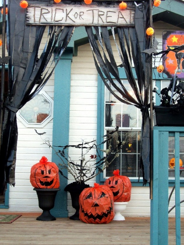 Cheap Outdoor Halloween Decorations Ideas