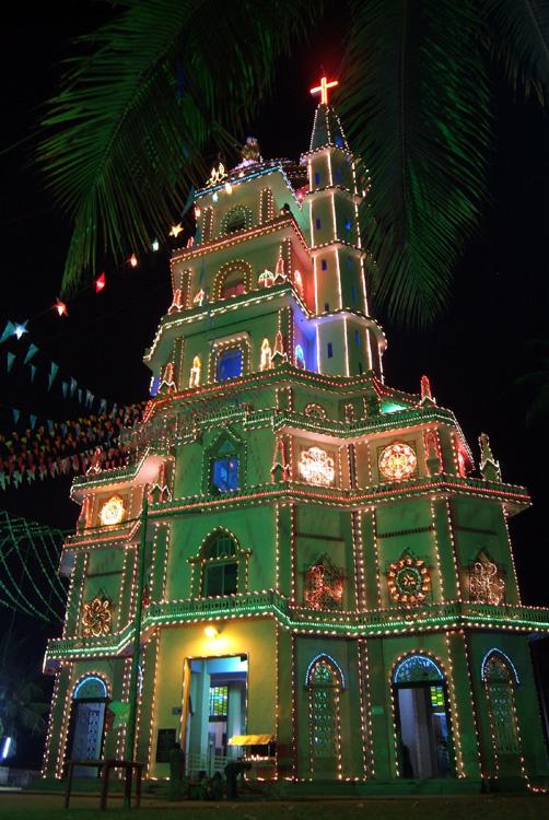 Christmas Church in India