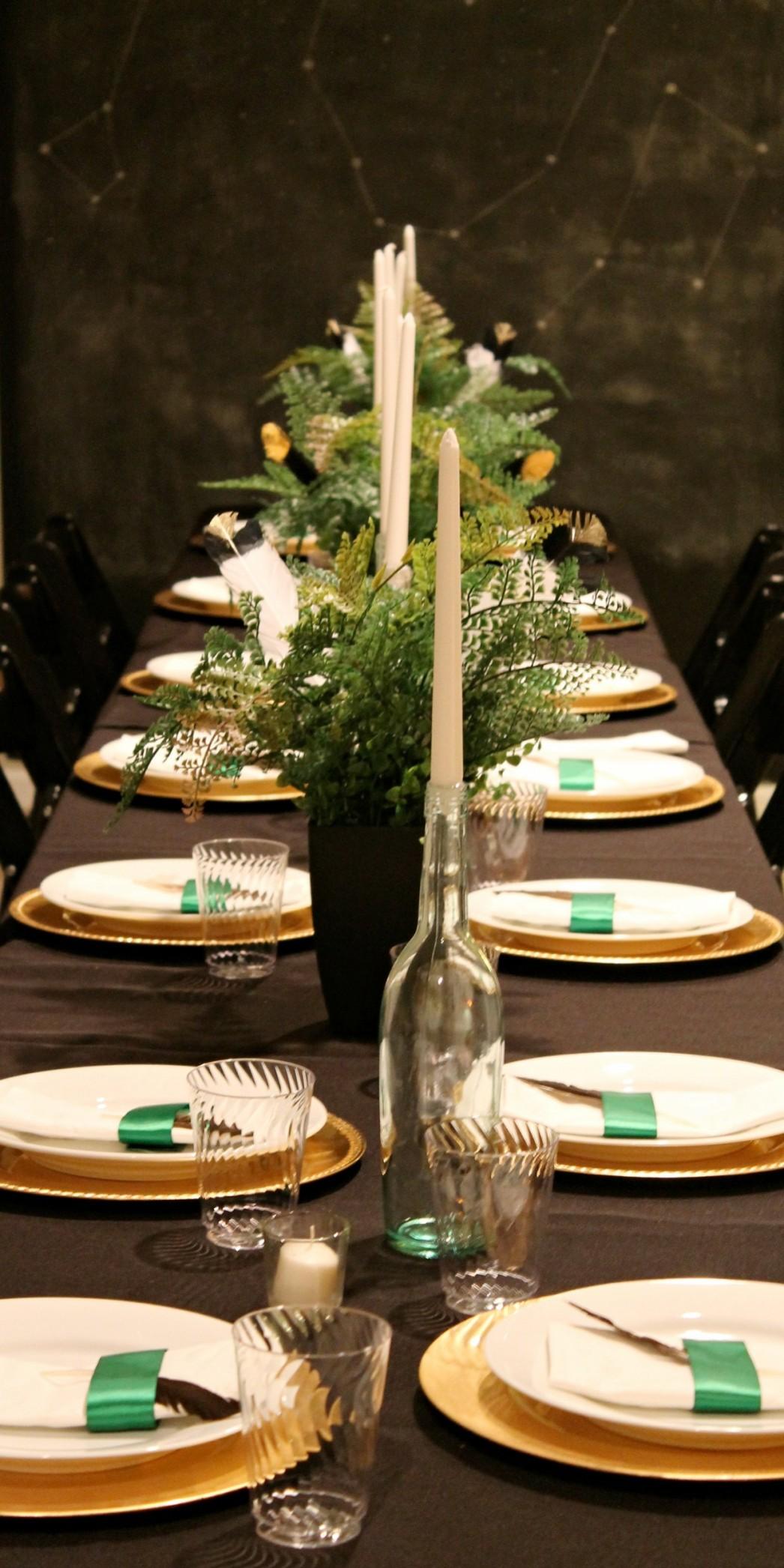 Christmas Dinner Party Table Ideas