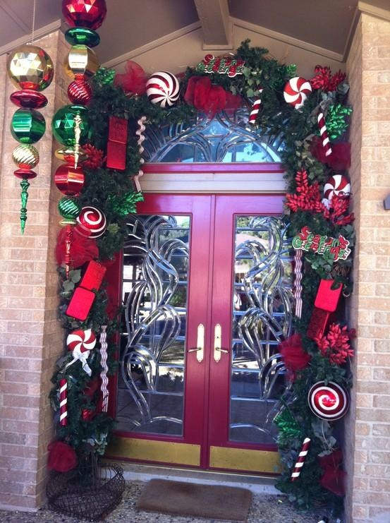 Christmas Door Idea
