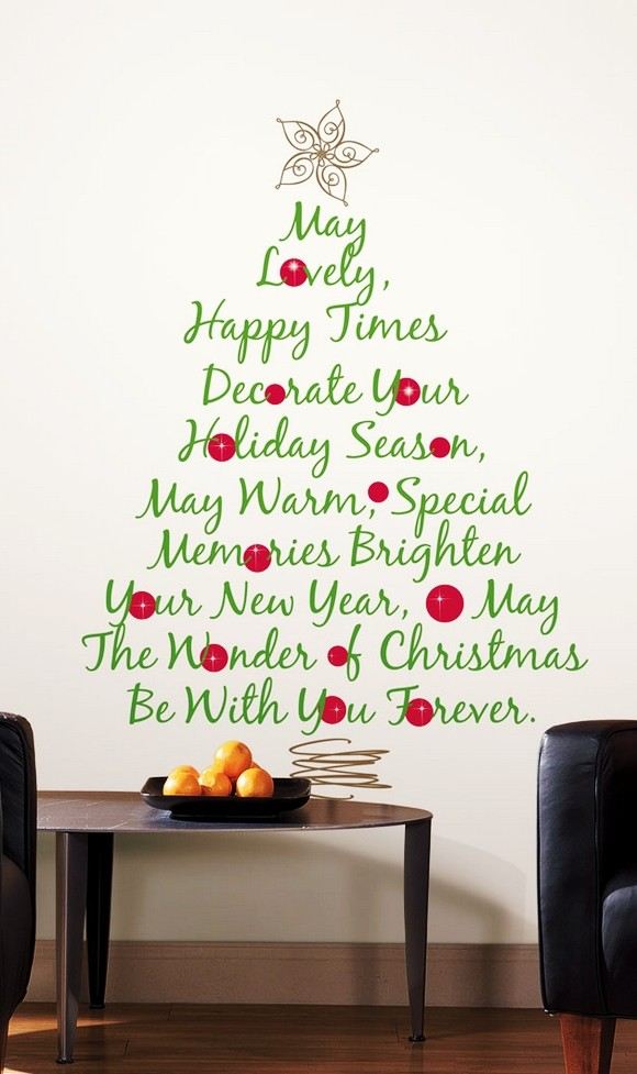 40 Christmas Wall Decorations Ideas - Decoration Love