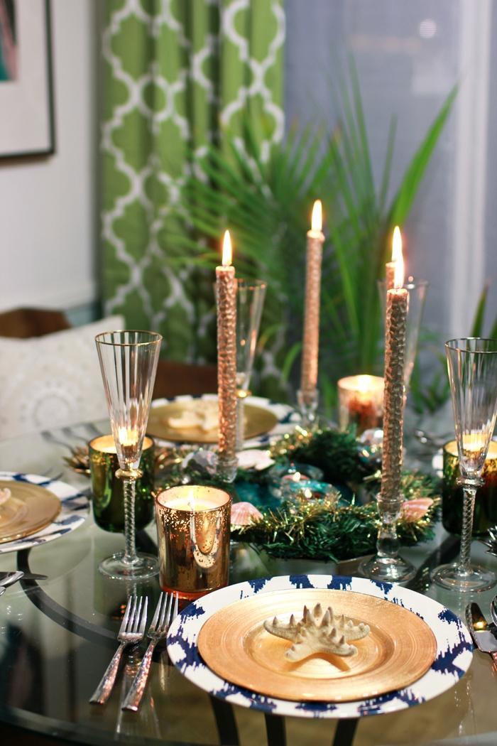 Classic Christmas Table Decoration Ideas