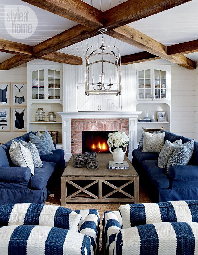 Coastal Cottage Living Room Furniture