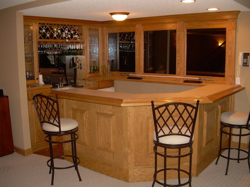 25 corner home bar design ideas decoration love - Bars for house ...
