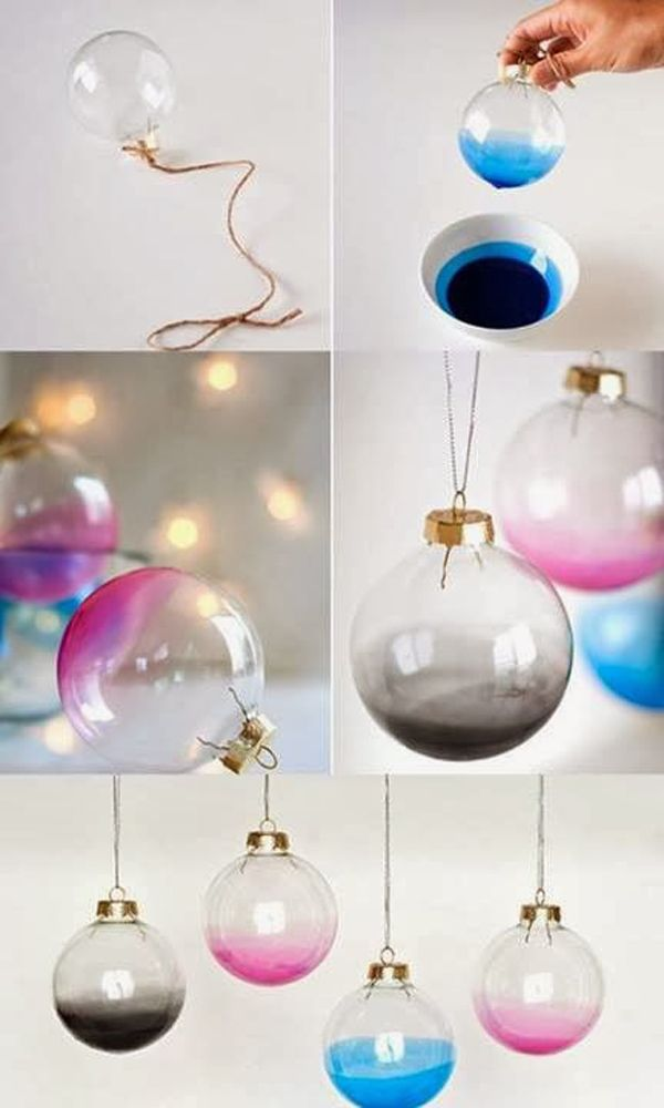 Cute DIY Christmas Tree Decorations