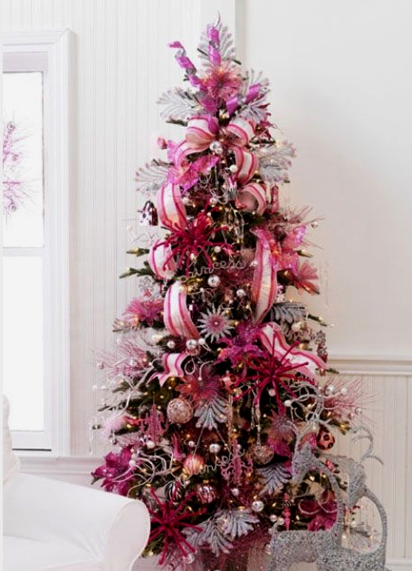 Cute Pink Christmas Tree
