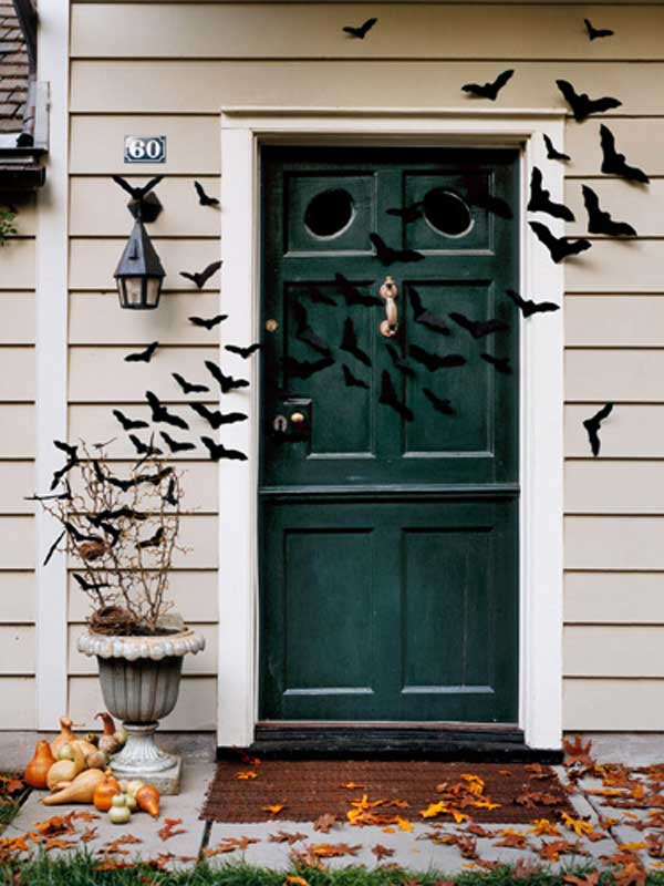 Front Door Halloween Decorations Ideas