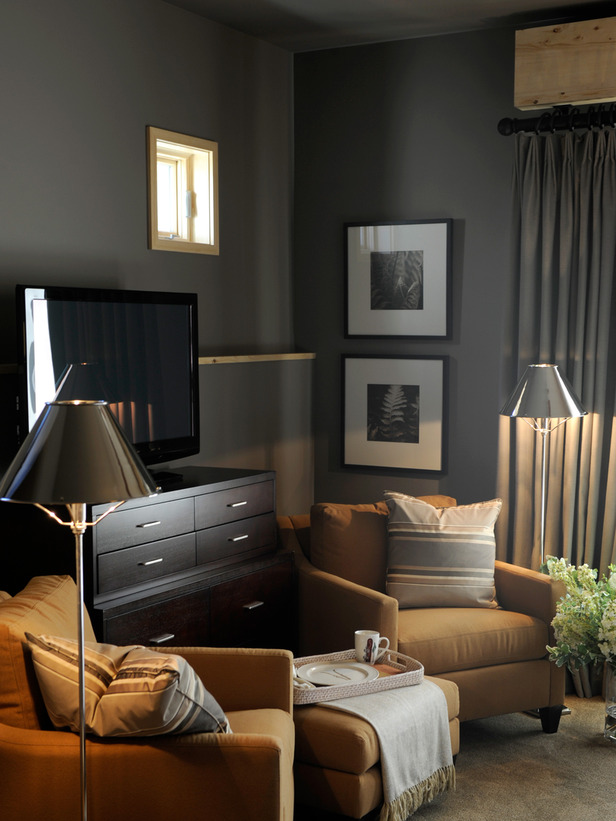 Grey and Beige Living Room Ideas